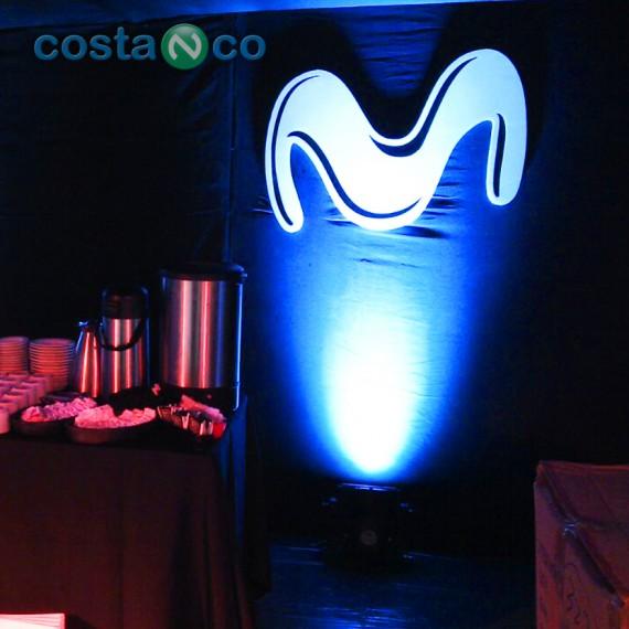 Stand Movistar en AutoClásica 2014