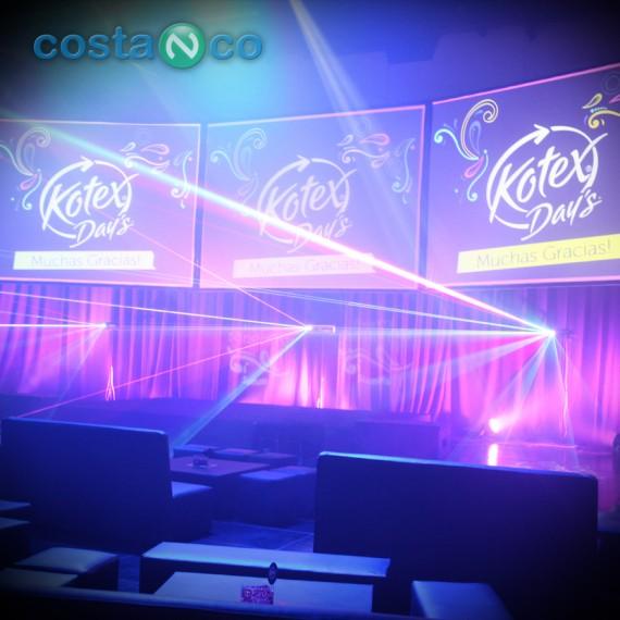 Kotex . Evento Corporativo