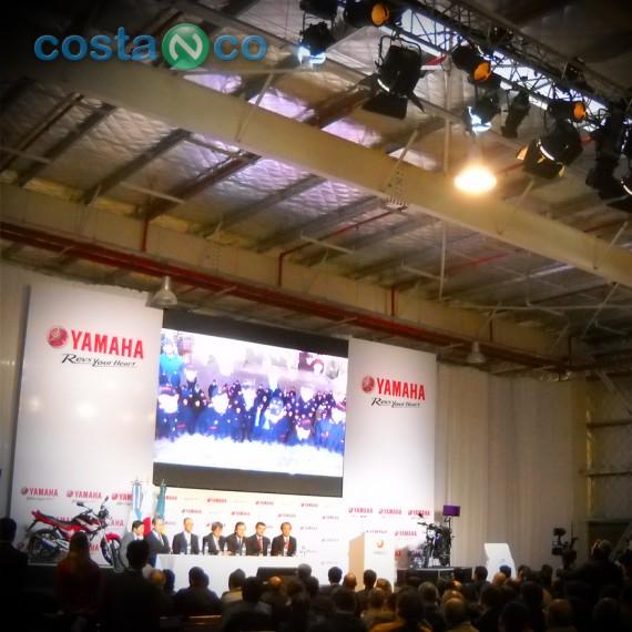 Inauguración de la Planta de Yamaha