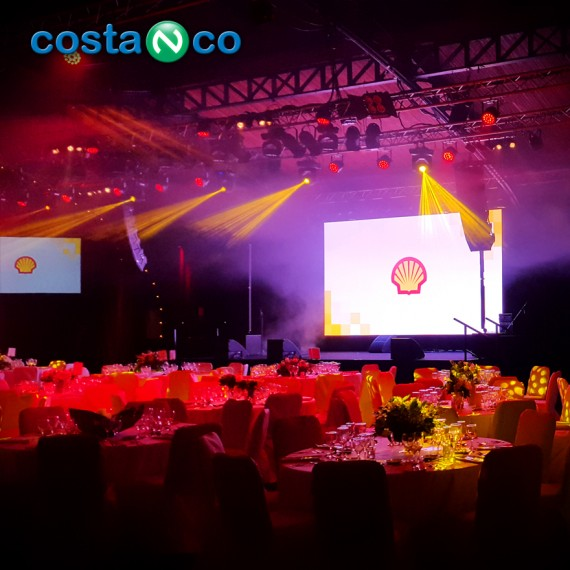 Evento Corporativo realizado para SHELL