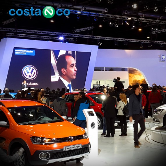 Stand Volkswagen - Salón del Automóvil 2015